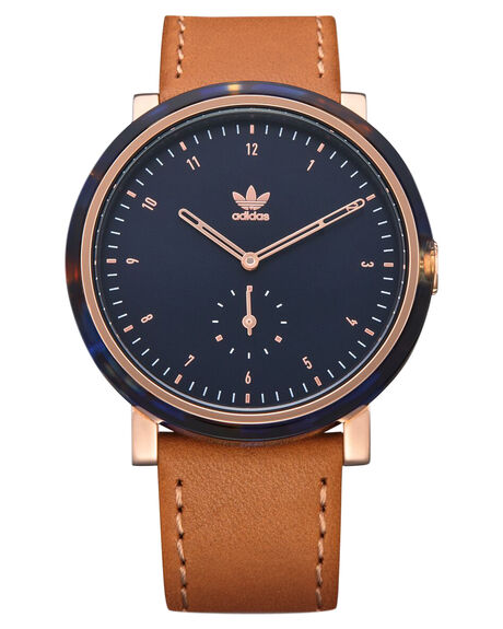 BLUE TORT ROSE GOLD MENS ACCESSORIES ADIDAS WATCHES - Z19-3245