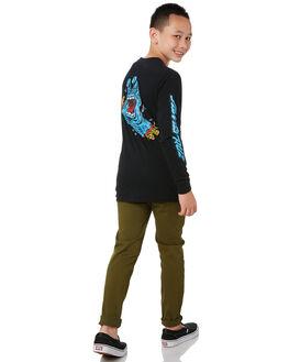 BLACK KIDS BOYS SANTA CRUZ TOPS - SC-YLA0371BLK