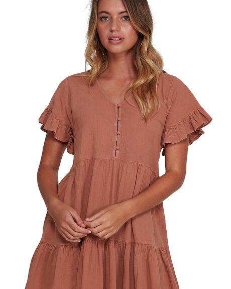 PECAN WOMENS CLOTHING BILLABONG DRESSES - BB-6504461-PCN