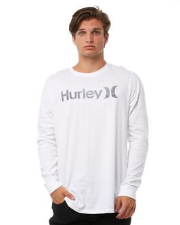 WHITE MENS CLOTHING HURLEY TEES - 892062100