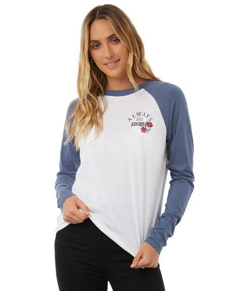 DEEP BLUE WOMENS CLOTHING VOLCOM TEES - B0111875DPB