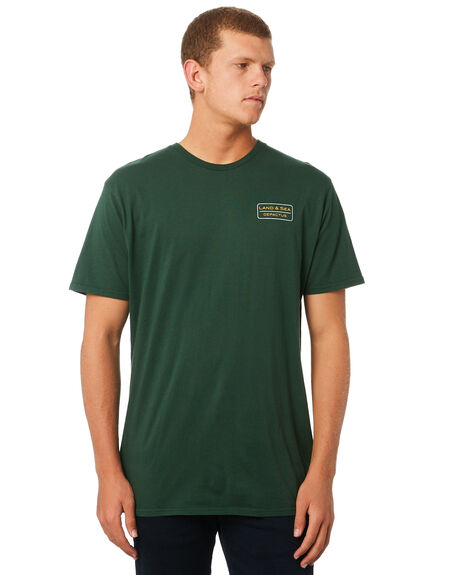 BOTTLE GREEN MENS CLOTHING DEPACTUS TEES - D5182001BTLGN