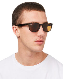 HAVANA BROWN MENS ACCESSORIES RAY-BAN SUNGLASSES - 0RB2184HBRN