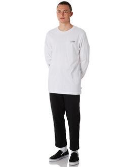 WHITE MENS CLOTHING GLOBE TEES - GB01830022WHT