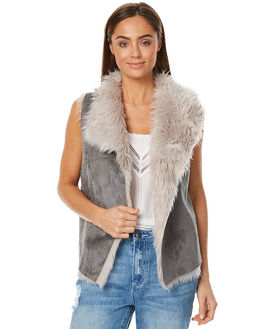 GREY WOMENS CLOTHING LILYA JACKETS - LV03GREY