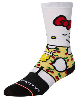 WHITE WOMENS CLOTHING STANCE SOCKS + UNDERWEAR - W515B18SUMWHT