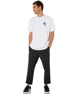 WHITE BLUE MENS CLOTHING CARHARTT TEES - I02707802