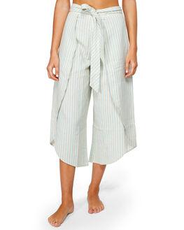 ANTIQUE WHITE WOMENS CLOTHING BILLABONG PANTS - BB-6591413-A75