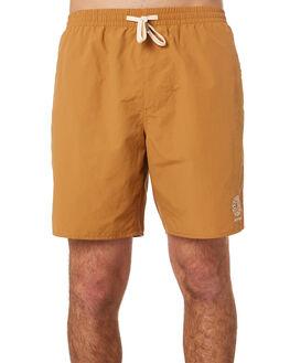 TOBACCO MENS CLOTHING RHYTHM BOARDSHORTS - OCT19M-JM12-TOB