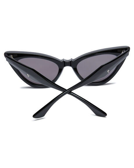 BLACK WOMENS ACCESSORIES VALLEY SUNGLASSES - S0518BLK