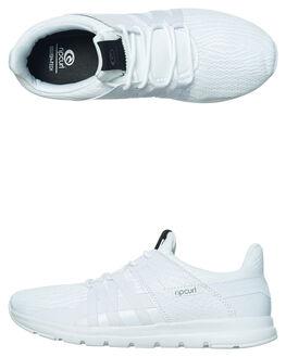 WHITE WHITE WOMENS FOOTWEAR RIP CURL SNEAKERS - TGLCB51186