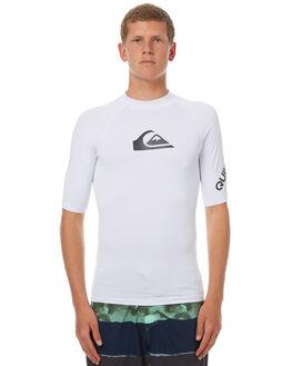 WHITE SURF RASHVESTS QUIKSILVER MENS - UQYWR03026WBB0
