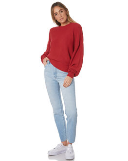 SCARLET RED WOMENS CLOTHING NEUW KNITS + CARDIGANS - 38181-4339