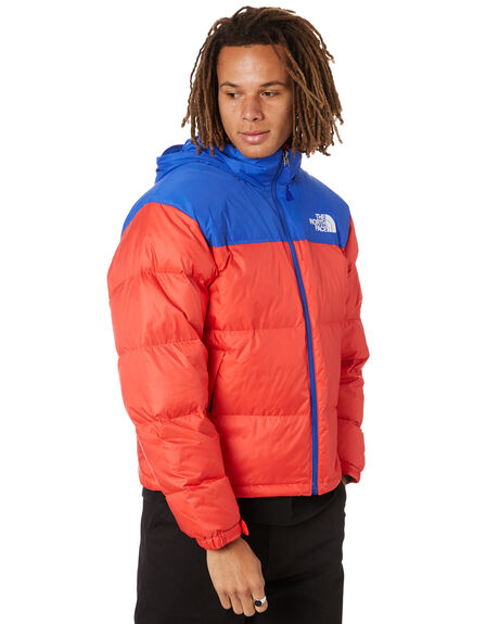 HORIZON RED TNF BLUE MENS CLOTHING THE NORTH FACE JACKETS - NF0A3C8DY3B