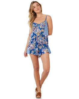 BLUE WOMENS CLOTHING THE HIDDEN WAY PLAYSUITS + OVERALLS - H8184448BLUE