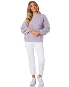 PURPLE WOMENS CLOTHING RUSTY KNITS + CARDIGANS - CKL0352THS