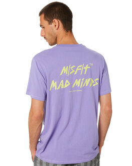 PURPLE MENS CLOTHING MISFIT TEES - MT005001PRPL