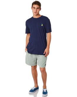 NAVY BLUE MENS CLOTHING RUSTY TEES - TTM2248NVB