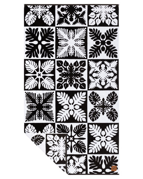 BLACK WOMENS ACCESSORIES SLOWTIDE TOWELS - ST192BLK