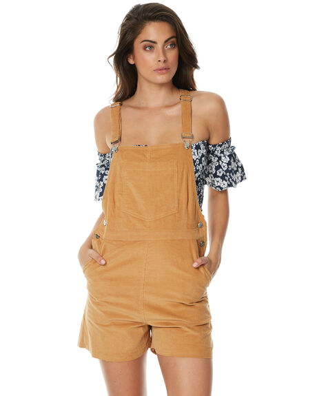 CARAMEL WOMENS CLOTHING RUE STIIC PLAYSUITS + OVERALLS - JA1702CCRML