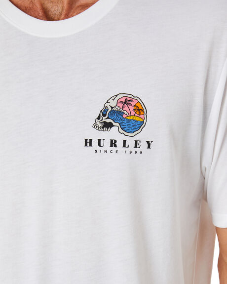WHITE MENS CLOTHING HURLEY TEES - CW5729100