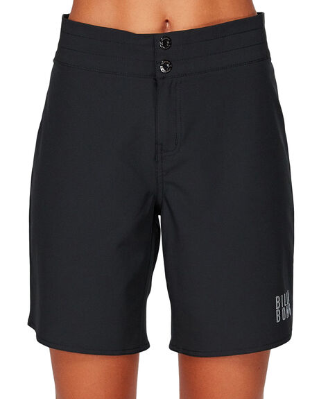 BLACK WOMENS CLOTHING BILLABONG SHORTS - BB-6592361-BLK