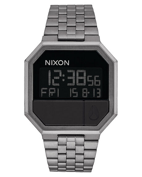 ALL GUNMETAL MENS ACCESSORIES NIXON WATCHES - A158632