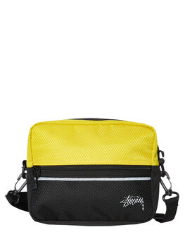 YELLOW MENS ACCESSORIES STUSSY BAGS + BACKPACKS - ST793013YELL
