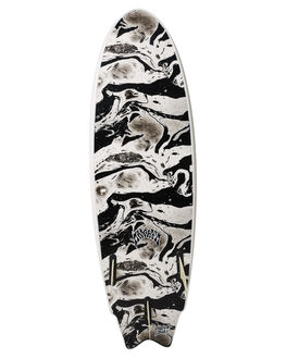 WHITE BOARDSPORTS SURF CATCH SURF SOFTBOARDS - ODY55-LSTWHI