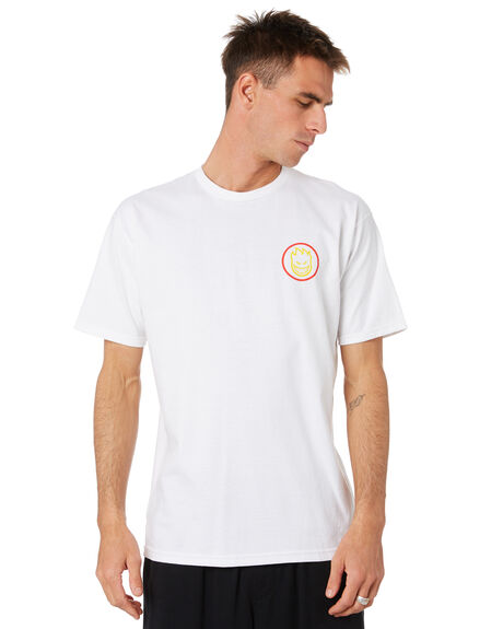 WHITE MENS CLOTHING SPITFIRE TEES - 51010163FWHT