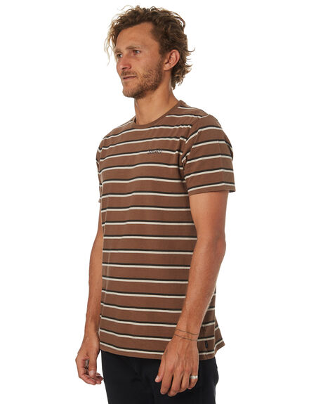 BROWN MENS CLOTHING SWELL TEES - S5184044BROWN