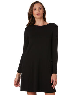 BLACK WOMENS CLOTHING BETTY BASICS DRESSES - BB257H19BLK