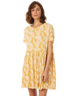 HONEY PALM WOMENS CLOTHING RUE STIIC DRESSES - SA18-21-HP-Y-HONP