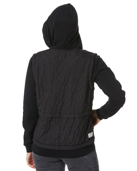 BLACK WOMENS CLOTHING HURLEY JUMPERS - CK1497010