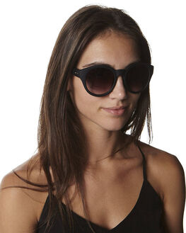BLACK SMOKE MONO WOMENS ACCESSORIES MINKPINK SUNGLASSES - MNP1108000BLK