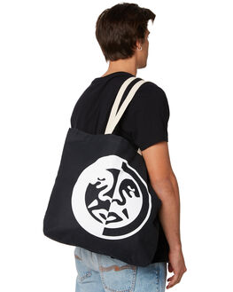 BLACK MENS ACCESSORIES OBEY BAGS + BACKPACKS - 100551961BLK