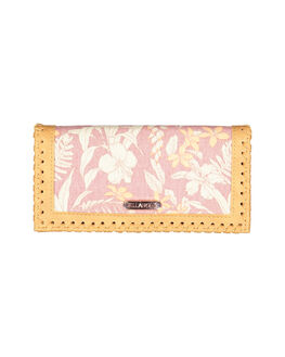 WITHERED ROSE WOMENS ACCESSORIES BILLABONG PURSES + WALLETS - BB-6691205-WR4