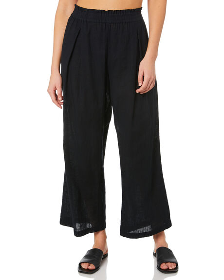 BLACK WOMENS CLOTHING SWELL PANTS - S8211191BLACK