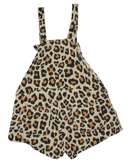 NEW LEOPARD KIDS GIRLS SWEET CHILD OF MINE DRESSES + PLAYSUITS - SP18JORDYOVRLLEO
