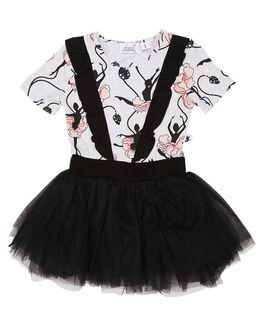 FLORAL KIDS TODDLER GIRLS KISSED BY RADICOOL DRESSES + PLAYSUITS - KR0834FLR