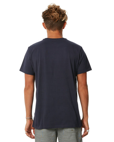 NAVY MENS CLOTHING BILLABONG TEES - 9562046NVY