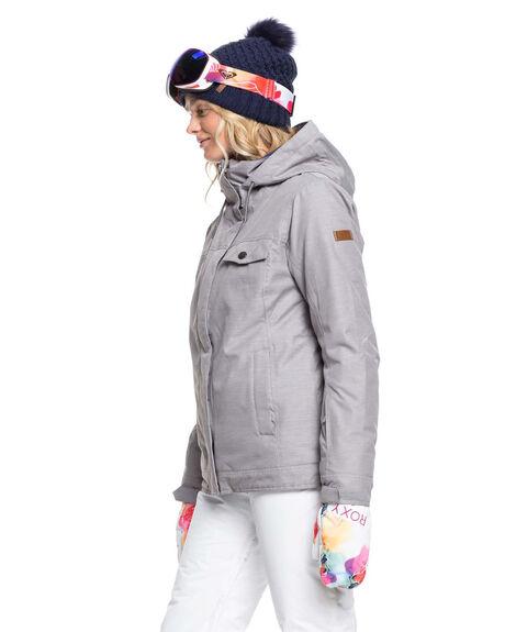 HEATHER GREY BOARDSPORTS SNOW ROXY WOMENS - ERJTJ03235-SJEH