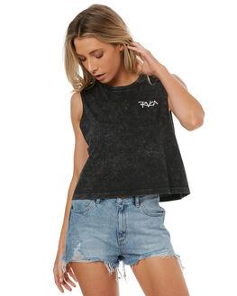 BLACK ACID WOMENS CLOTHING RVCA SINGLETS - R272664252