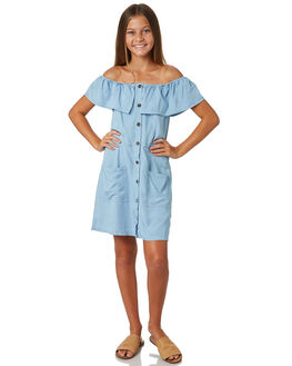 BLUE KIDS GIRLS EVES SISTER DRESSES + PLAYSUITS - 9520067BLU