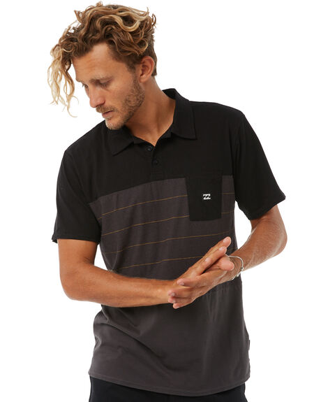 BLACK MENS CLOTHING BILLABONG SHIRTS - 9585143BLK