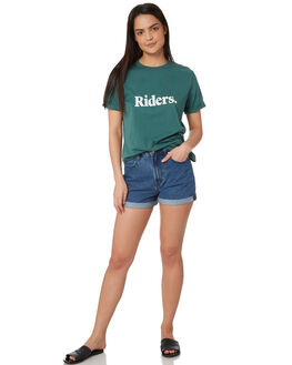 SAGE WOMENS CLOTHING RIDERS BY LEE TEES - R-551572-DE2