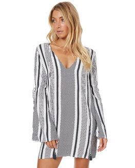 TILE STRIPE WOMENS CLOTHING RUE STIIC DRESSES - CC32TILE