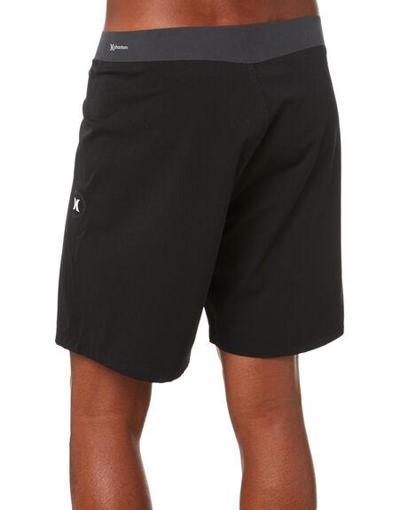 BLACK MENS CLOTHING HURLEY BOARDSHORTS - CJ5436010