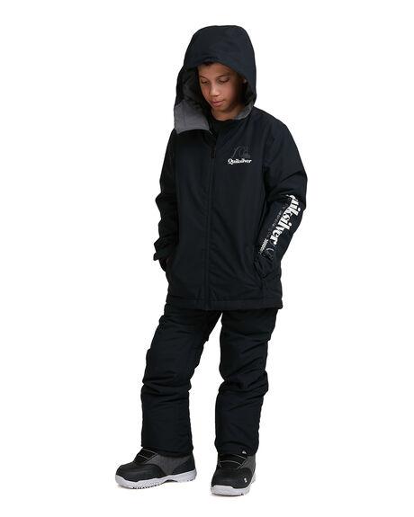 TRUE BLACK BOARDSPORTS SNOW QUIKSILVER KIDS - EQBTJ03121-KVJ0
