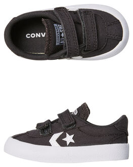 ALMOST BLACK KIDS TODDLER BOYS CONVERSE FOOTWEAR - 760760BLK